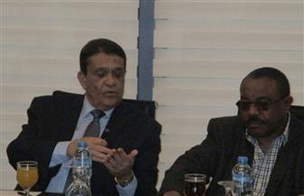 زكي عابدين يستقبل رئيس وزارء إثيوبيا السابق ويصطحبه في جولة بالعاصمة الإدارية