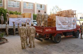 القوات المسلحة ترفع كفاءة المدارس والمنشآت التعليمية بالإسكندرية