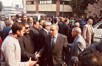 نقيب الصحفيين: الكاتب الراحل إبراهيم سعدة رفع من قيمة الصحافة المصرية| صور