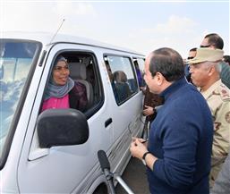 بسام راضي: الرئيس يتفقد عددا من المشروعات بالعاصمة الإدارية وقطاع الطرق والنقل | صور