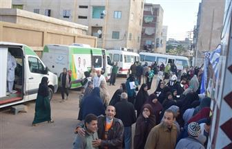 """الكشف على 2500 مواطن في قافلة طبية بمشاركة """"مستقبل وطن"""" بدمياط"""