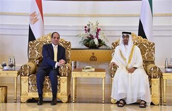 الرئيس السيسي يتلقى اتصالا من ولي عهد أبوظبي.. ويبحثان ملفات التعاون بين البلدين