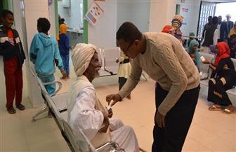 جامعة أسوان: قافلة طبية مجانية لأهالي قرية العلاقي |صور