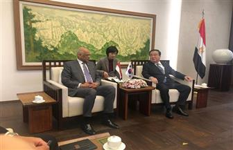 رئيس مجلس النواب يلتقي رئيس الجمعية الوطنية بكوريا الجنوبية | صور
