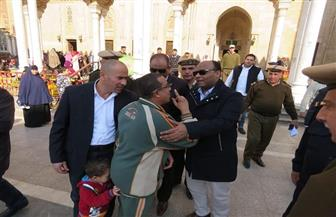 مدير أمن الغربية يتفقد خدمات تأمين المسجد الأحمدى في طنطا | صور
