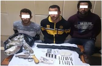 ضبط تشكيل عصابي لحيازته أسلحة نارية واتجاره بالمخدرات في الشرقية