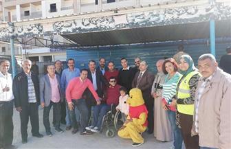 """""""مستقبل وطن"""" بالبحر الأحمر يحتفل باليوم العالمى لذوي الإعاقة في الغردقة"""