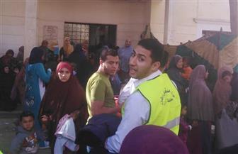 """""""مستقبل وطن"""" بالجيزة ينظم قافلة طبية مجانية بالعياط"""