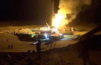 """""""البترول"""": جار السيطرة على حريق بريمة جنوب رأس سدر.. ولا إصابات"""