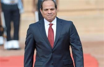 الرئيس السيسي يصل مقر افتتاح عدد من المشروعات في مجال المياه والإسكان