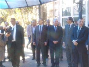 وزير المالية يتفقد مقر مصلحة الجمارك بالإسكندرية| صور