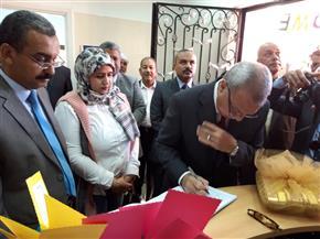 الهجان وعبدالرشيد يفتتحان الوحدة الصحية بمدينة قنا الجديدة| صور