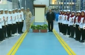 """الرئيس السيسي يفتتح محطة تحلية المياه بـ""""الطور"""" في جنوب سيناء"""
