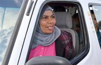 نحمدو عبد الرازق سائقة الميكروباص ضيفة برنامج ٩٠ دقيقة.. الليلة