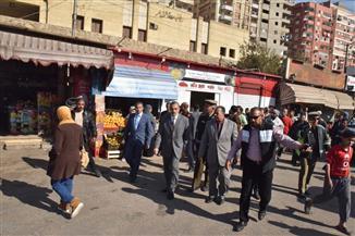 محافظ أسيوط يفتتح موقف الشادر الجديد بعد نقل سيارات خط (أسيوط– القاهرة)| صور