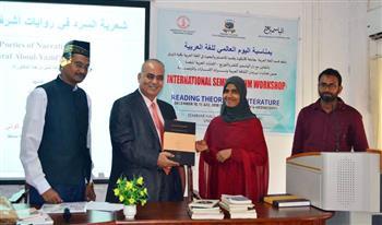 """جامعة هندية تناقش دكتوراه عن """"شعرية السرد عند أشرف أبو اليزيد"""""""