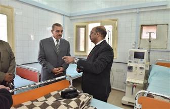 محافظ أسيوط يتفقد الرعاية الصحية بالنخيلة لنقل وحدة الغسل الكلوي بأبوتيج| صور
