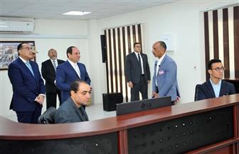 """الرئيس السيسي يستفسر عن وجود كنيسة في منطقة """"أهالينا 1"""" بالسلام"""