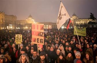 الآلاف يتظاهرون ضد حكومة النمسا اليمينية