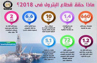 تعرف على مشروعات قطاع البترول خلال عام 2018 | إنفوجراف