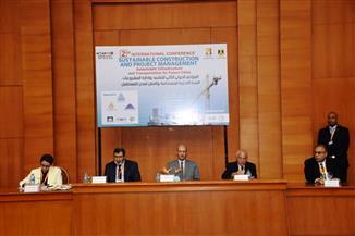 سكرتير محافظة أسوان  يفتتح مؤتمر التشييد المستدام وإدارة المشروعات   صور