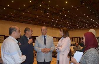 """وزيرة الهجرة تعقد اجتماعا تنسيقيا مع علماء """"مصر تستطيع بالتعليم"""""""