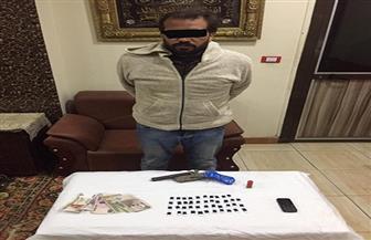 ضبط 4 أسلحة نارية وكمية من المخدرات في حملة أمنية بكفر الشيخ | صور