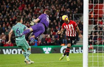 أرسنال يتلقى الخسارة الأولى بعد 22 مباراة على يد ساوثهامبتون بالدوري الإنجليزي