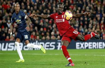 ليفربول يتقدم بهدف ساديو ماني علي مانشيستر يونايتد في الدقيقة 24| فيديو