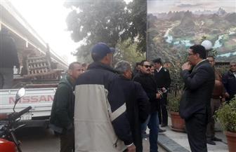 حي الهرم يشن حملة لإزالة الإشغالات بمنطقة اللبيني هرم والمريوطية| صور