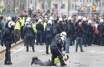 تظاهرة ضد ميثاق الهجرة في بروكسل ومواجهات مع قوات الأمن