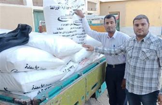 ضبط طني كيماوي محظور بيعه خارج الجمعيات الزراعية في الفيوم|صور