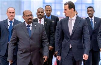 الرئيس السوري بشار الأسد يستقبل نظيره السوداني عمر البشير في دمشق|صور