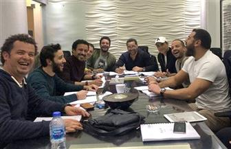 عمرو يوسف يبدأ بروفات الجزء الثاني من أولاد رزق| صور
