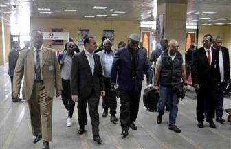 رئيس جمهورية زامبيا الأسبق وأسرته بالأقصر لزيارة المعالم الأثرية | صور