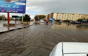 أمطار غزيرة على كفرالشيخ.. وتوقف عمليات الصيد لسوء الأحوال الجوية | صور