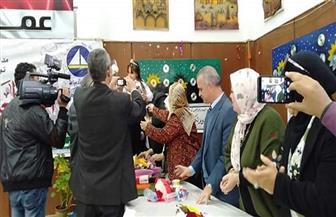 """""""تعليم دمياط"""" تحتفل بـ""""اليوم العالمي للغة العربية"""" بمواهب شعرية وغنائية   صور"""