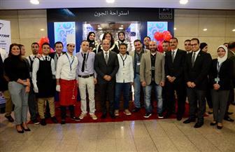 وزير الطيران يفتتح أحدث استراحات مصر للطيران بمطار القاهرة الدولي | صور