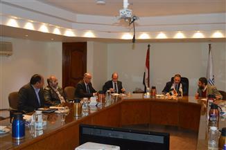 """رئيس """"القومي لبحوث المياه"""" يترأس الاجتماع الأخير لتوجيهية مشروع تكيف دلتا نهر النيل مع التغيرات المناخية"""