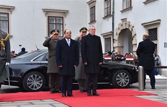 تفاصيل لقاء الرئيس السيسي مع نظيره النمساوي