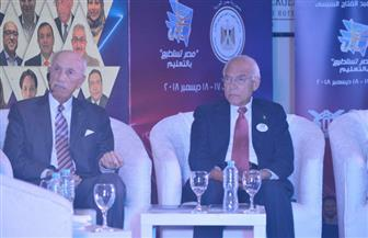 """فاروق الباز بمؤتمر """"مصر تستطيع"""": نحتاج إلى إصلاح اجتماعي للنهوض بالتعليم"""