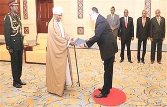سفير مصر الجديد بالخرطوم يقدم أوراق اعتماده للرئيس السوداني البشير |صور
