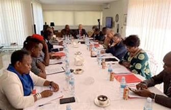 سفارة مصر في أنجولا تستضيف اجتماع سفراء الدول الإفريقية المعتمدين |صور