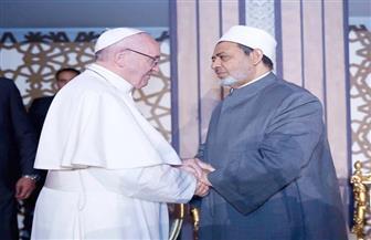 الإمام الأكبر يهنئ بابا الفاتيكان بأعياد الميلاد
