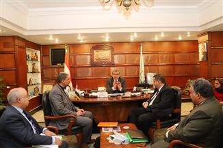 وزير القوى العاملة يلتقي وفد وزارات العمل في دول المغرب العربي