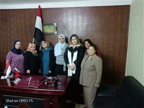 نساء الحركة الوطنية في زيارة إلي الإسماعيلية   صور