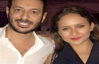 مصطفى شعبان يهنئ نيللي كريم بعيد ميلادها