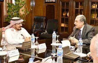 وزير الكهرباء يستقبل رئيس المنتدى العربي لمنظمي الكهرباء بالسعودية