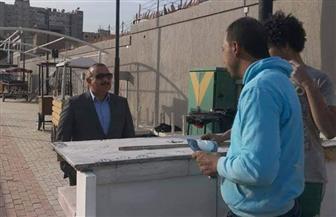 رئيس حى مصر الجديدة: التعامل مع تسريب غاز وسقوط عامود إنارة بشارع بيروت