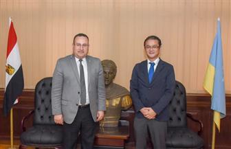 """محافظ الإسكندرية يلتقي ممثل هيئة التعاون الدولي اليابانية بمصر """"جايكا""""   صور"""